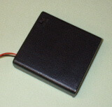4 x AA BATTERY BOX WITH SWITCH